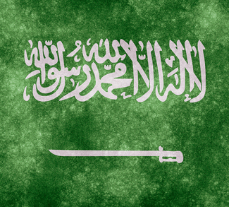 Saudi Arabia Flag - cc Nicolas Raymond