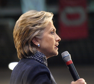 Hillary Clinton cc Paula Lively