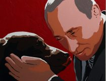 Putin painting by Alexei Sergiyenko, photo cc Flickr Volna80