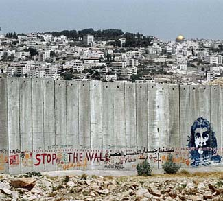 cc Flickr Wall in Palestine