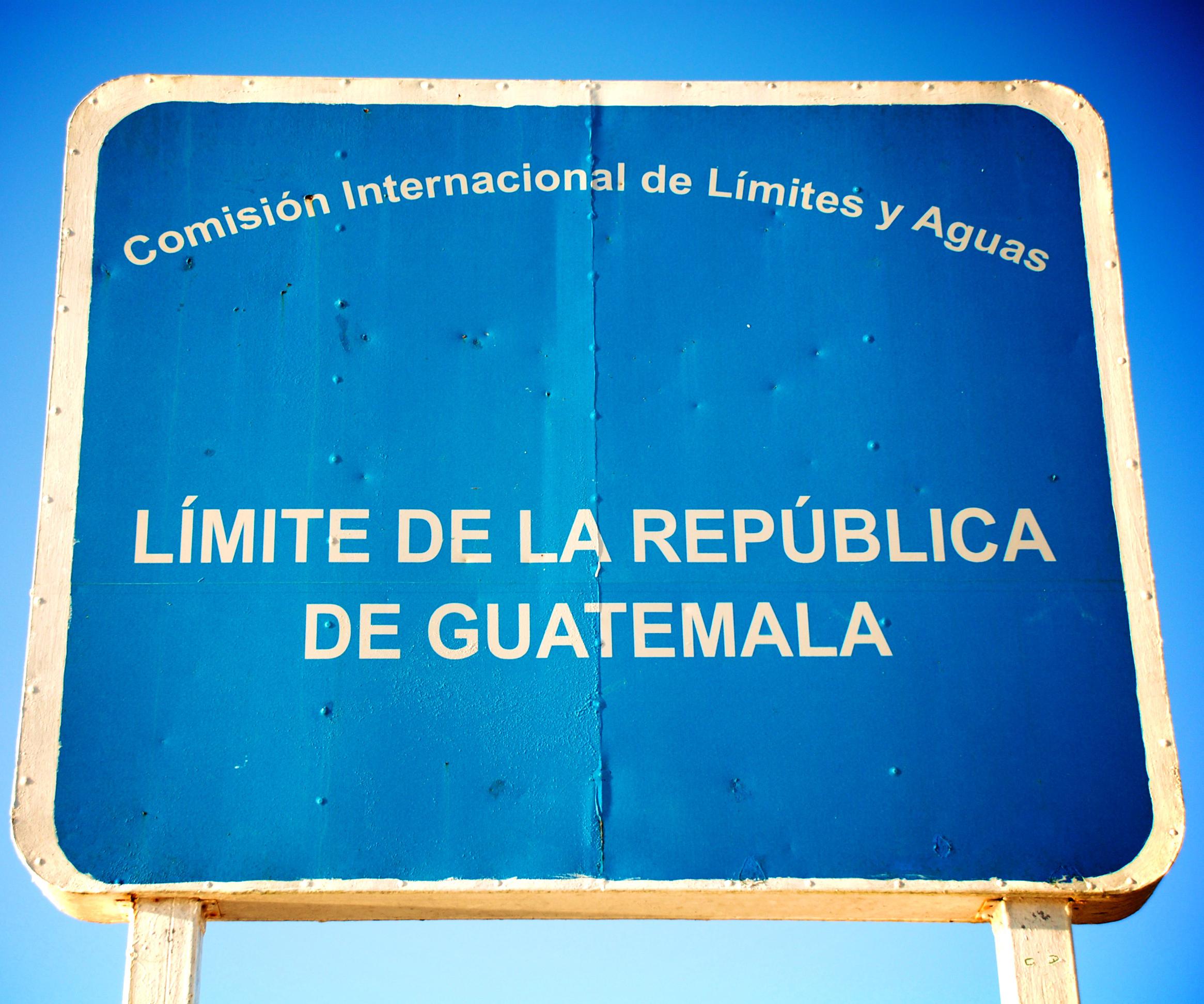 Guatemala border, CC Flickr kuma chan