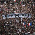 A massive protest in France following the Charlie Hebdo massacre; one of many across the continent as citizens of the European Union fight to define their future.