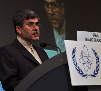 HE Mr. Fereydoun Abbasi Davani delivers a speech to IAEA in 2011. CC Flickr IAEA Imagebank