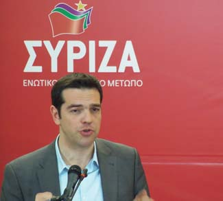 PM Elect Alexis Tsipras CC Flickr Joanna, changes made, https://creativecommons.org/licenses/by/2.0/