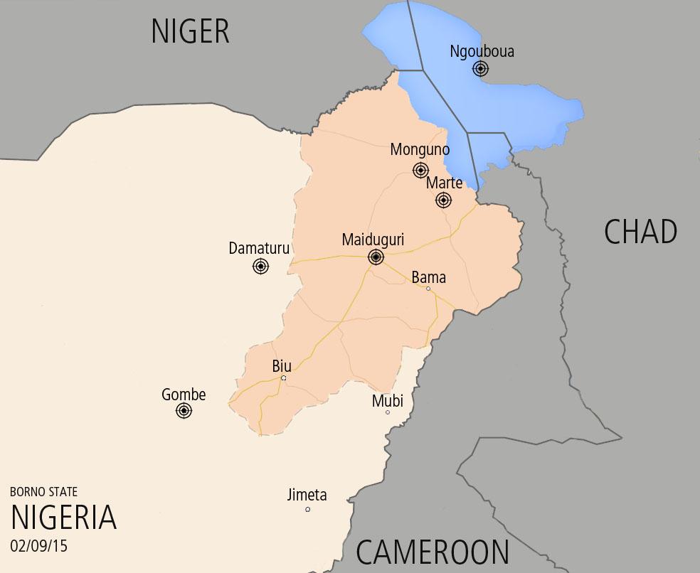 Boko Haram in Nigeria, 02/17/15, Geopoliticalmonitor.com