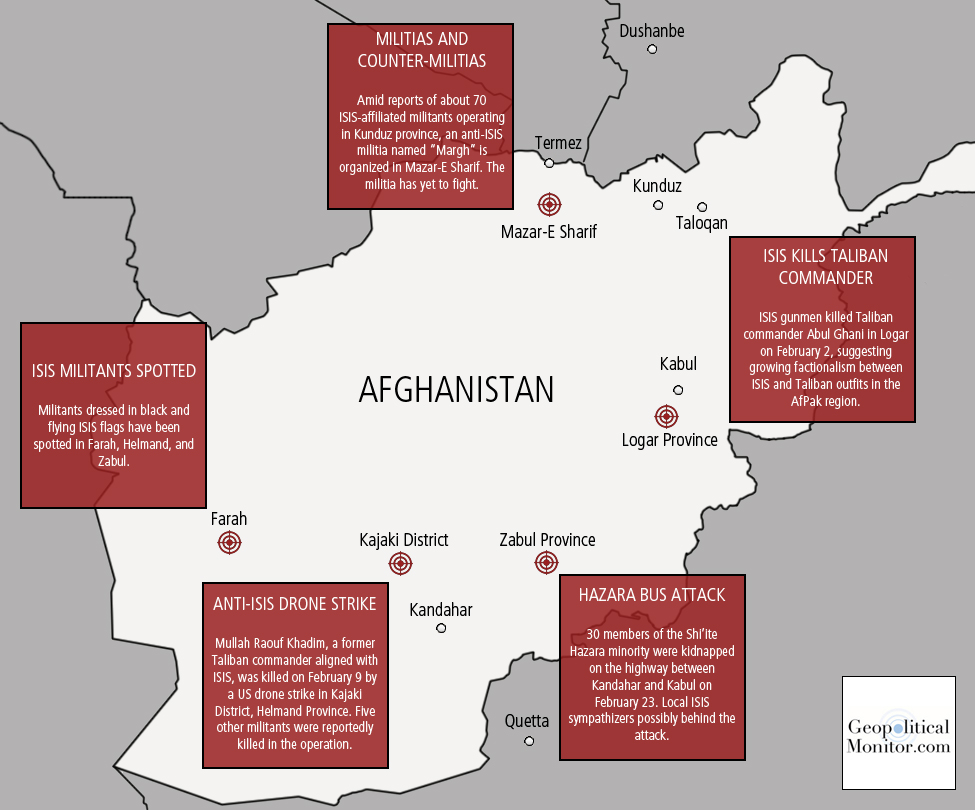 Islamic State in Afghanistan, www.geopoliticalmonitor.com