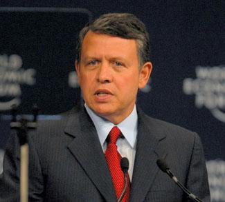 King Abdullah, cc Wikicommons