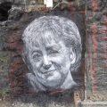 MerkelGraffiti cc thierry ehrmann Flickr