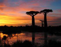 Sunset in Madagascar, cc Bernard Gagnon Wikicommons
