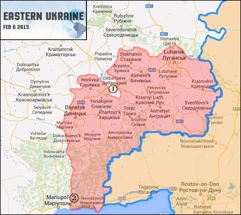 Map: Ukraine Civil War (02/06/15) | Geopolitical Monitor on ukraine map before and after, eastern ukraine donetsk map, control eastern ukraine map, ukraine history map, ukraine syria map, ukraine elections, ukraine propaganda posters, ukraine unrest map, ukraine economy 2014, turkey ukraine map, ukraine combat map, ukraine map 2014, ukraine air strikes, ukraine economy map, ukraine political unrest, ukraine map front, ukraine russian map invasion, current ukraine map, ukraine in europe or asia,