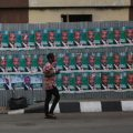 Nigeria Election Posters, cc Clara Sanhiz, https://creativecommons.org/licenses/by-sa/2.0/, modified