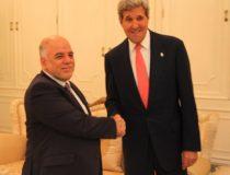 al-Abadi and John Kerry, cc US State Department
