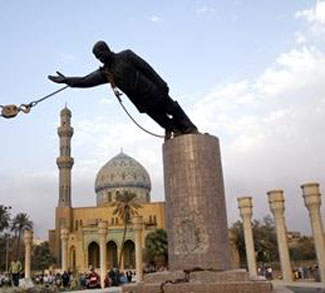 Fall of Saddam, cc Flickr, Amir Farshad Ebrahimi