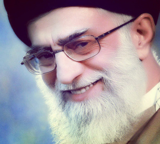 Khamenei2, cc Flickr Iftikh, modified, https://creativecommons.org/licenses/by/2.0/