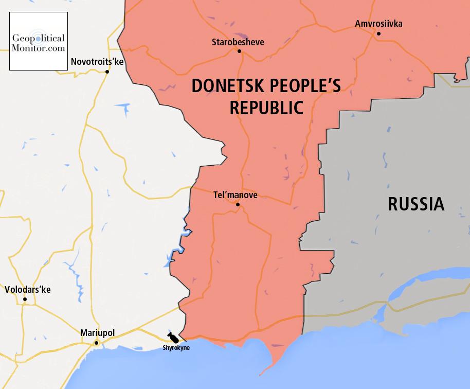 As Cracks Appear in Minsk II All Eyes Are on Mariupol