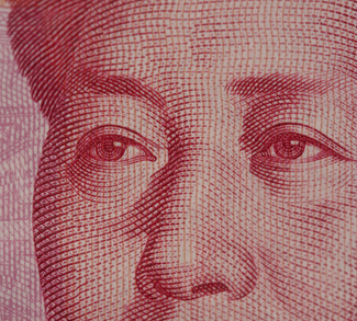Chinese yuan, CC Flickr David Dennis, modified, https://creativecommons.org/licenses/by-sa/2.0/