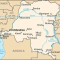 Democratic Republic of Congo Map, cc Wikicommons