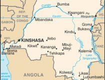Democratic Republic of Congo Map, cc Wikicommons