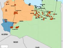 Libya Map Small, Geopoliticalmonitor.com