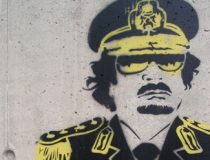 Gaddafi Graffiti, cc Flickr Joel Kramer, modified, https://creativecommons.org/licenses/by/2.0/