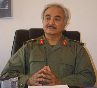 Haftar, cc Flickr Magharebia