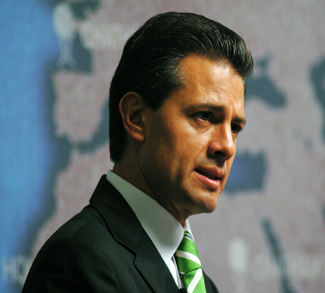 Mexico's President Nieto, cc Flickr Chatham House, https://creativecommons.org/licenses/by/2.0/