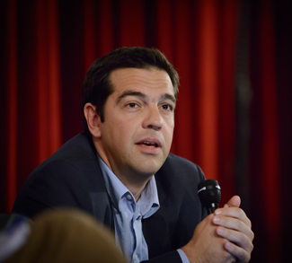Alexis Tsipras, cc Flickr matthew_tsimitak, modified, https://creativecommons.org/licenses/by-sa/2.0/