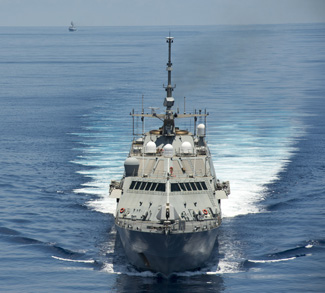 Littoral Combat Ship USS Fort Worth (LCS 3), cc Flickr Naval Surface Warriors