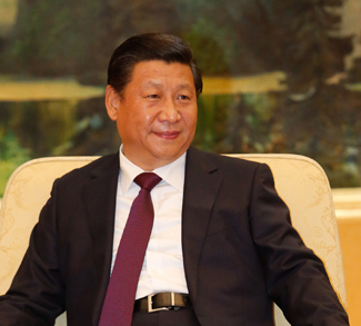 Xi Jinping, CC Flickr Global Panorama