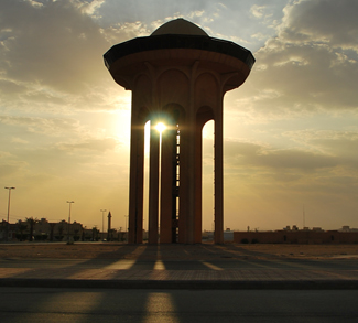 Saudi Water Tower, cc Flickr Andrew A. Shenouda, modified