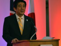 Shinzo_Abe,_Prime_Minister_of_Japan_(9092387608), cc Wikicommons, Chatham House London