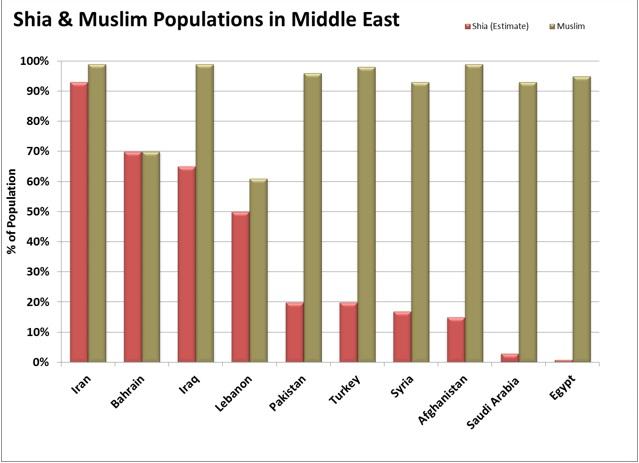 Shia Muslim Population
