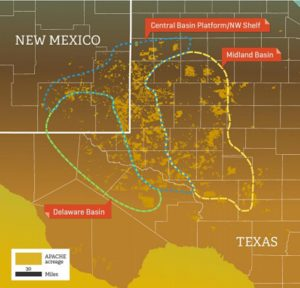 APA Permian acreage, Apache/Occidental Investor Materials