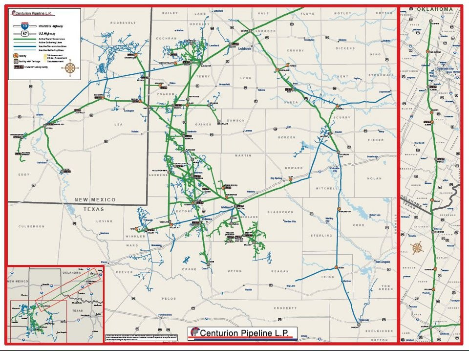 OXY Permian Pipeline, Occidental Investor Disclosure