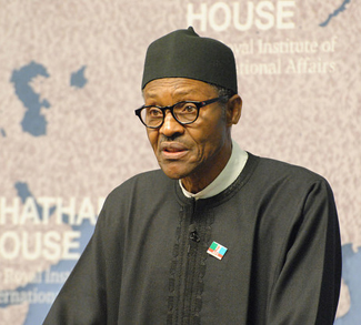 Buhari, cc Flickr Global Panorama, modified, https://creativecommons.org/licenses/by-sa/2.0/
