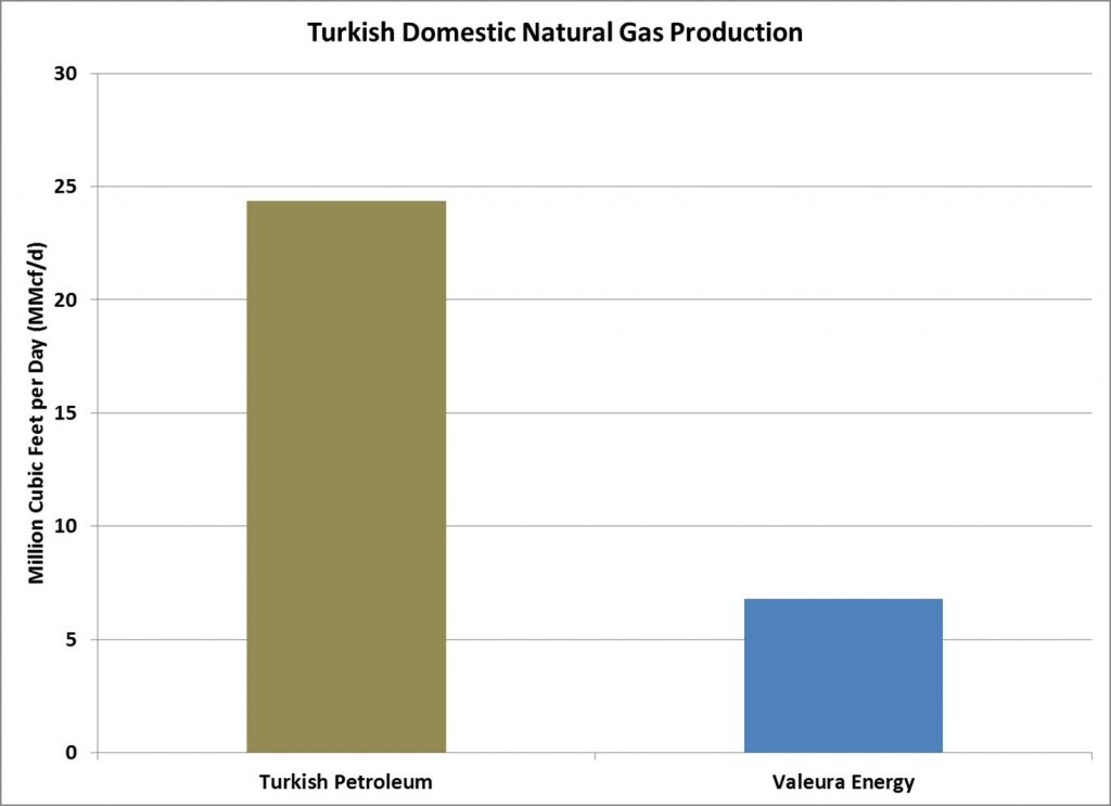 Turkey Domestic Gas