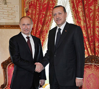 Putin_and_Erdoğan, cc modified Presidential Press and Information Office Kremlin, Wikicommons