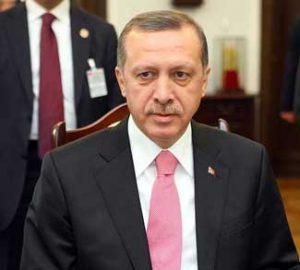 Turkey President Recep Erdogan has recently changed his policy toward the Syrian civil war.