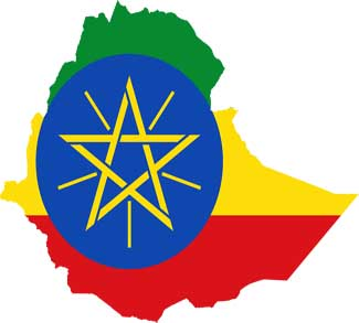 Flag-map_of_Ethiopia, cc wikicommons https://en.wikipedia.org/wiki/File:Flag-map_of_Ethiopia.svg, modified