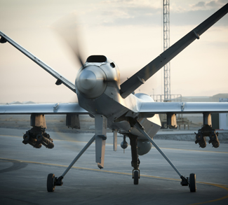 US-Made reaper drone.