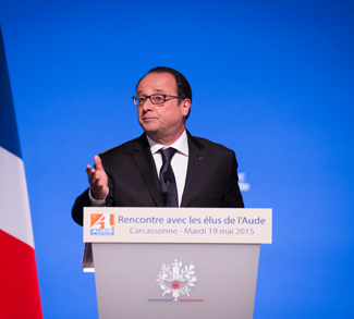 Pablo Tupin-Noriega (Wikimedia France), https://commons.wikimedia.org/wiki/File:Francois_Hollande_Carcassonne-1089.jpg