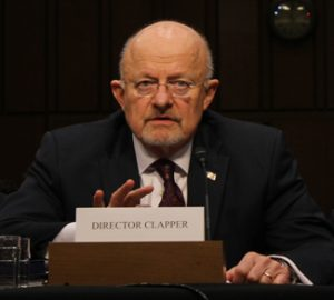 Director Clapper, cc Flickr Medill DC, https://creativecommons.org/licenses/by/2.0/