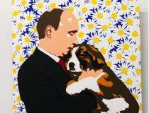 Putinpainting, photo credit: Nikolay Volnov Flickr, modified, https://creativecommons.org/licenses/by-sa/2.0/