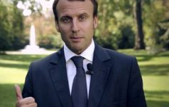 Macron, cc Flickr thierryleclercq, modified, public domain
