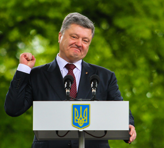 Poroshenko2, cc Flickr Oleg Dubyna, modified, https://creativecommons.org/licenses/by-sa/2.0/