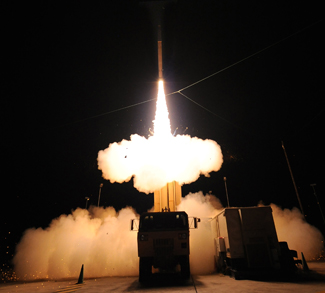 THAADLaunch, cc Flickr U.S. Missile Defense Agency, modified, https://creativecommons.org/licenses/by/2.0/