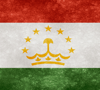 TajikiFlag, cc Flickr Nicolas Raymond, modified, http://freestock.ca/flags_maps_g80-tajikistan_grunge_flag_p1190.html, https://creativecommons.org/licenses/by/2.0/