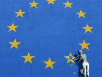 Banksy does Brexit ( photo cc Flickr Duncan Hall, modified) - Banksy has a much publicised casual attitude towards recreational copyright infringement and you are invited to download whatever you wish from www.banksy.co.uk for personal use.