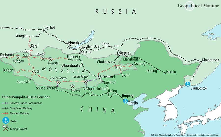 Fact Sheet: China-Mongolia-Russia Corridor | Geopolitical