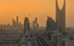 SaudiSkyline, cc B.alotaby, wikicommons, https://commons.wikimedia.org/wiki/File:Riyadh_Skyline_showing_the_King_Abdullah_Financial_District_(KAFD)_and_the_famous_Kingdom_Tower_.jpg